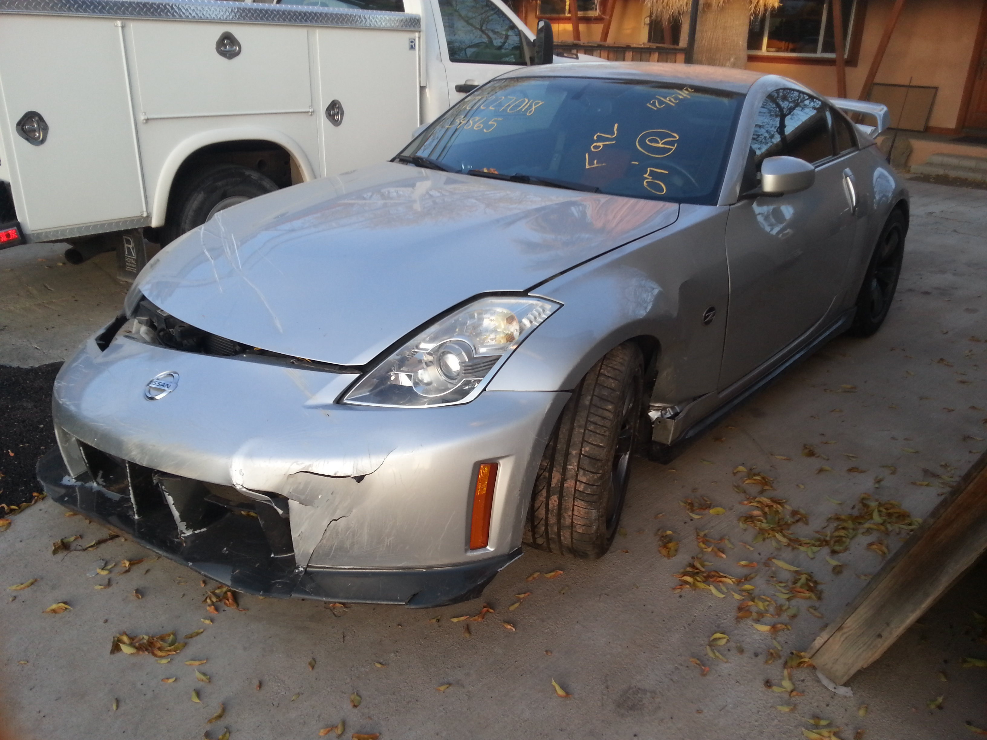 nissan 350z nismo edition before. Black Bedroom Furniture Sets. Home Design Ideas